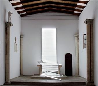 installation view vox clamantis in deserto by bernardí roig