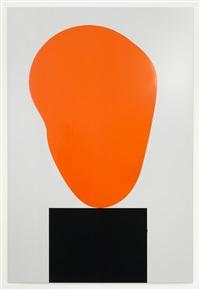 blob 02 (orange) by david batchelor