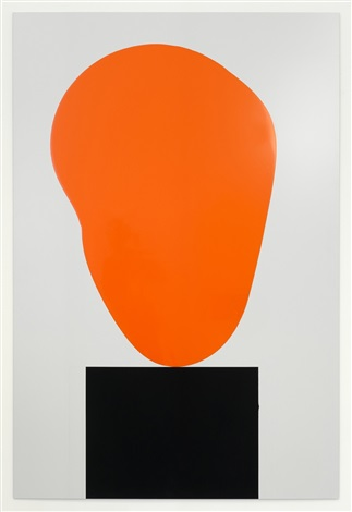 colour chart 02 (orange) by david batchelor