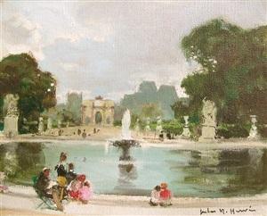 jardin de tuileries by jules alfred hervé