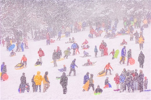 snow blizzard by mitchell funk