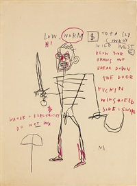 untitled (rome) by jean-michel basquiat