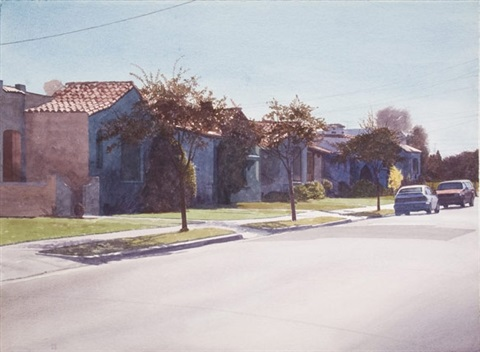 house of clay street by robert bechtle