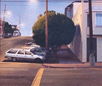 20th and texas early evening by robert bechtle