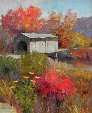 quaint hyde bridge by kent r. wallis