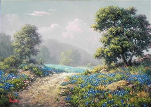 hill country trail by dalhart windberg