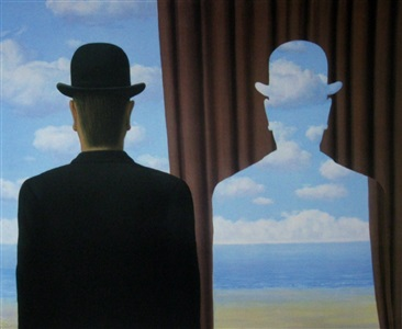 décalcomanie by rené magritte