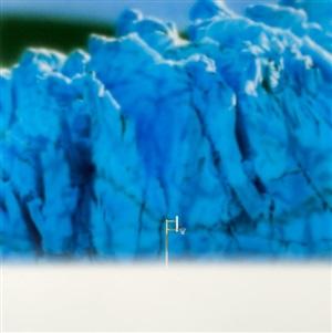 hoop with glacier by todd hebert