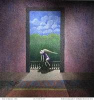 door to balcony by robert kobayashi