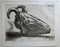 le crâne de chèvre by pablo picasso