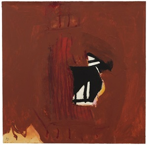 collaged wall iii by robert motherwell