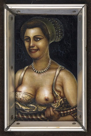 lady with jewels by gregory joseph gillespie