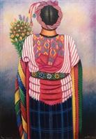 san antonio flower seller by maria teodora chavajay
