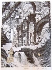 jello falls by john ashbery