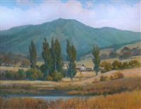 mount tamalpais farm by percy gray