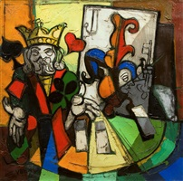 king and joker by claude venard