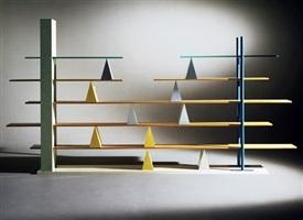 gritti bookshelf by andrea branzi