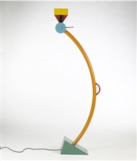 treetops floor lamp by ettore sottsass