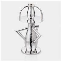 alaska silver vase by ettore sottsass