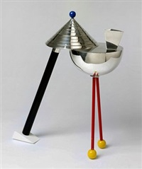 anchorage silver teapot by peter shire