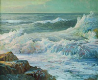 breaking waves by jack wilkinson smith