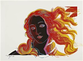 birth of venus, fs ii 318 by andy warhol