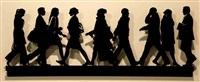 city walkers #2 by julian opie