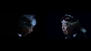 double projection #2 (when her prayer was heard) by meiro koizumi