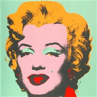 marilyn (f.s. 11. 23) by andy warhol