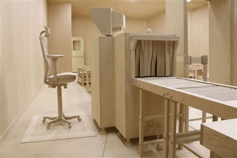checkpoint by roxy paine