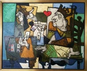 jack of hearts (valet de coeur) by claude venard