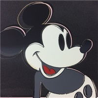myths: mickey mouse f&s ii.265 by andy warhol
