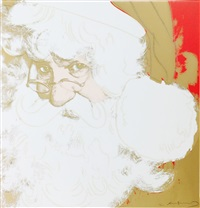 myths: santa claus f&s ii.266 by andy warhol