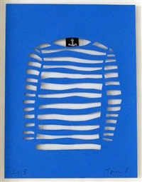 stripe boat shirt by tom slaughter