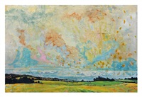 cultivated fields towards the sea by harry adams