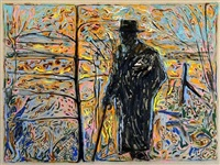 sibelius amongst saplings by billy childish