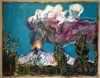 volcano by billy childish