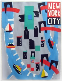 nyc map by tom slaughter