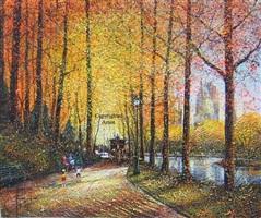 ny central park en automne les enfants by guy dessapt