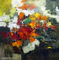 abstract in floral by christian nesvadba