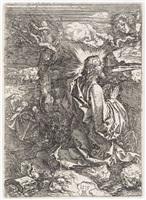 the agony in the garden by albrecht dürer