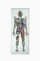 untitled, small figure no. 26 by dustin yellin