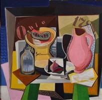 abstract still life by valenin nagel