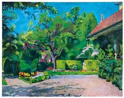 garten, oschwand / garden, oschwand by cuno amiet