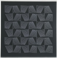 acclération optique by yvaral (jean-pierre vasarely)