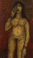 nude by francis newton souza