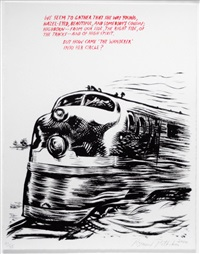 untitled (we seem to gather...), from plots on loan i by raymond pettibon