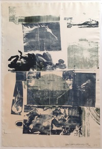 romances (epic) by robert rauschenberg