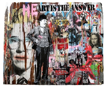 heart is the answer by mr brainwash