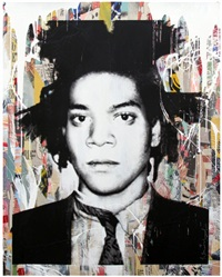 basquiat by mr. brainwash